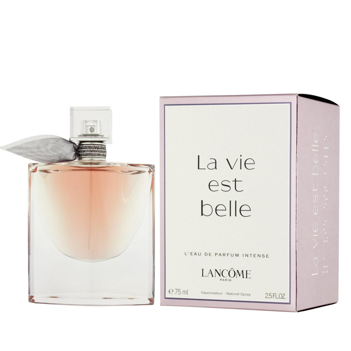 lanc me la vie est belle l 39 eau de parfum intense 75 ml. Black Bedroom Furniture Sets. Home Design Ideas