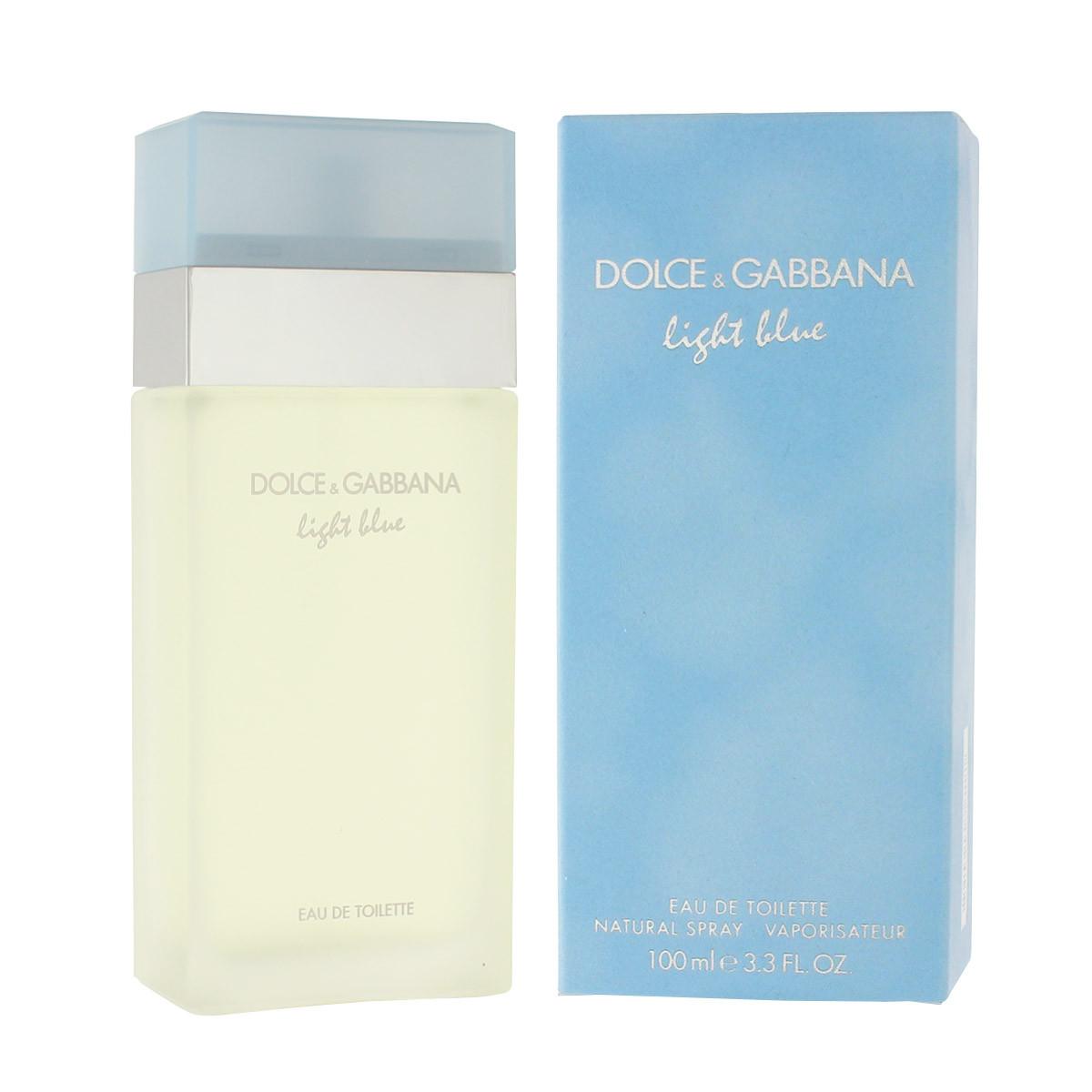 dolce gabbana light blue eau de toilette 100 ml woman. Black Bedroom Furniture Sets. Home Design Ideas