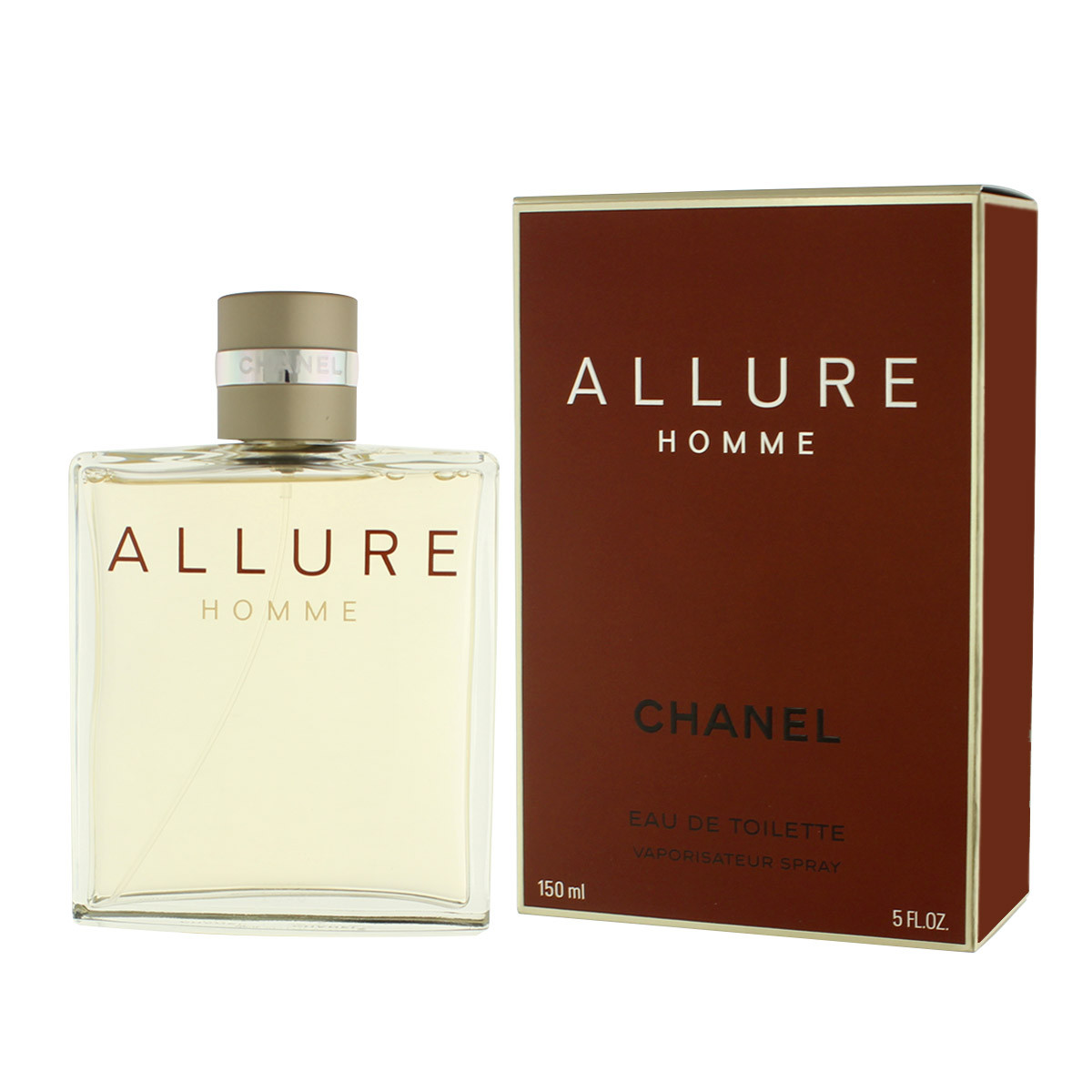 chanel allure homme eau de toilette 150 ml man allure. Black Bedroom Furniture Sets. Home Design Ideas
