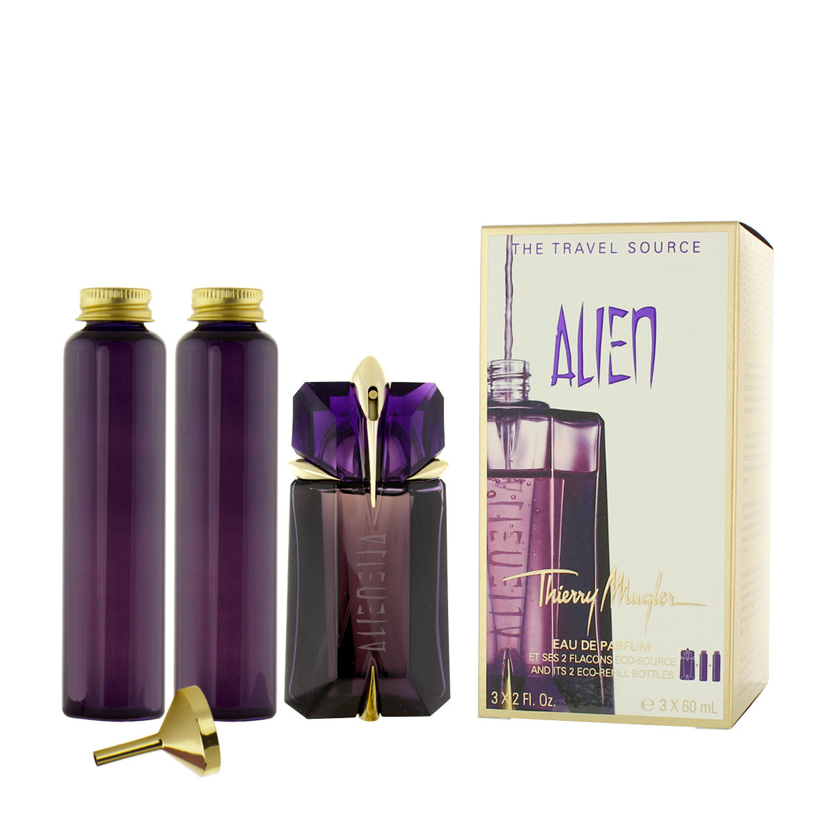 thierry mugler alien edp nachf llbar 60 ml edp nachf llung 2 x 60 ml woman alien thierry. Black Bedroom Furniture Sets. Home Design Ideas