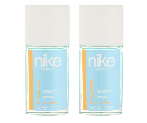 Nike Pure Woman Deodorant im Glas 2 x 75 ml (woman)