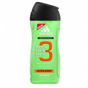 Adidas 3in1 Active Start Shower Gel 250 ml (man)