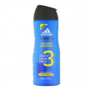 Adidas 3in1 Body Hair Face Shower Gel 400 ml