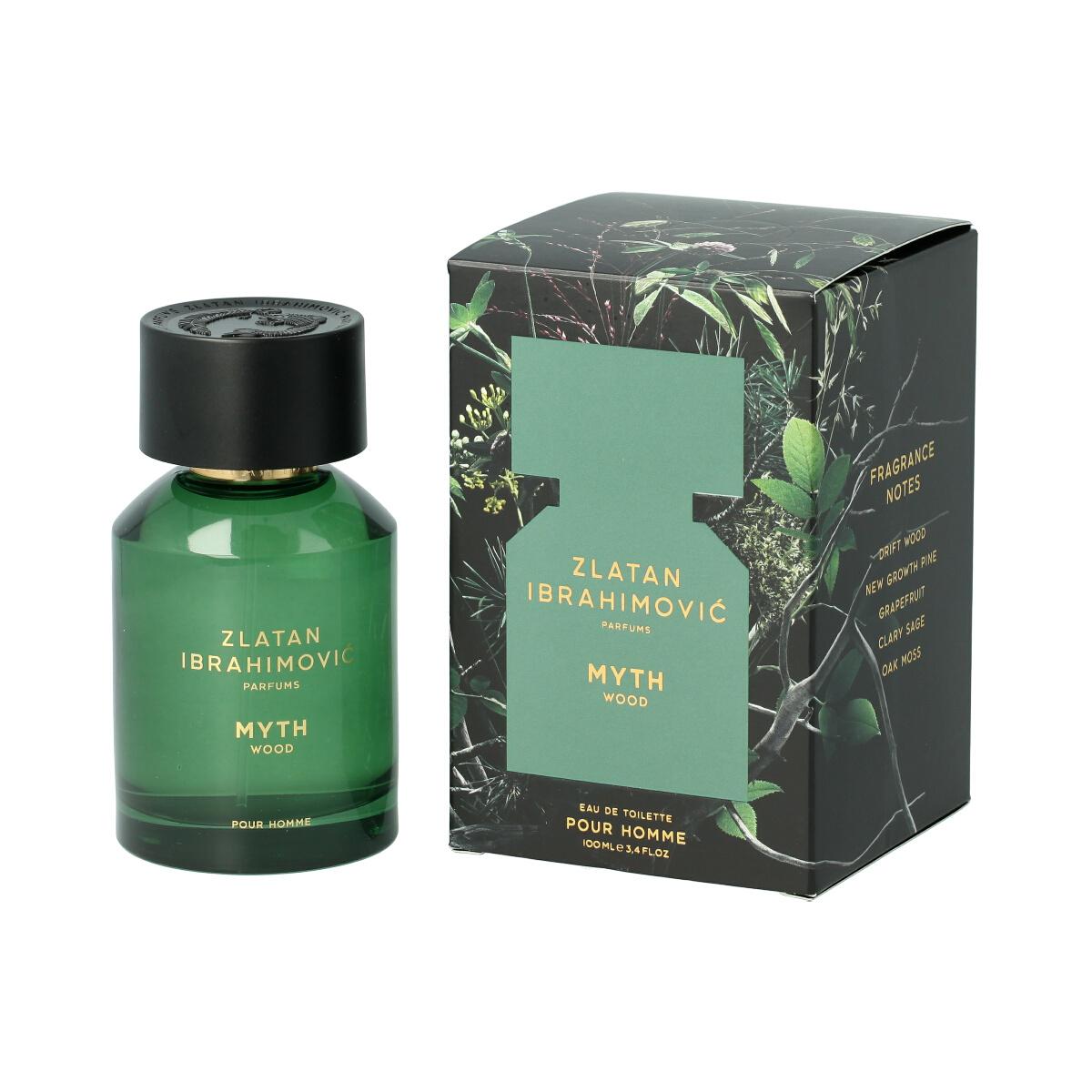 Zlatan Ibrahimovic Parfums Myth Wood Eau De Toilette 100 ml (man) 11884