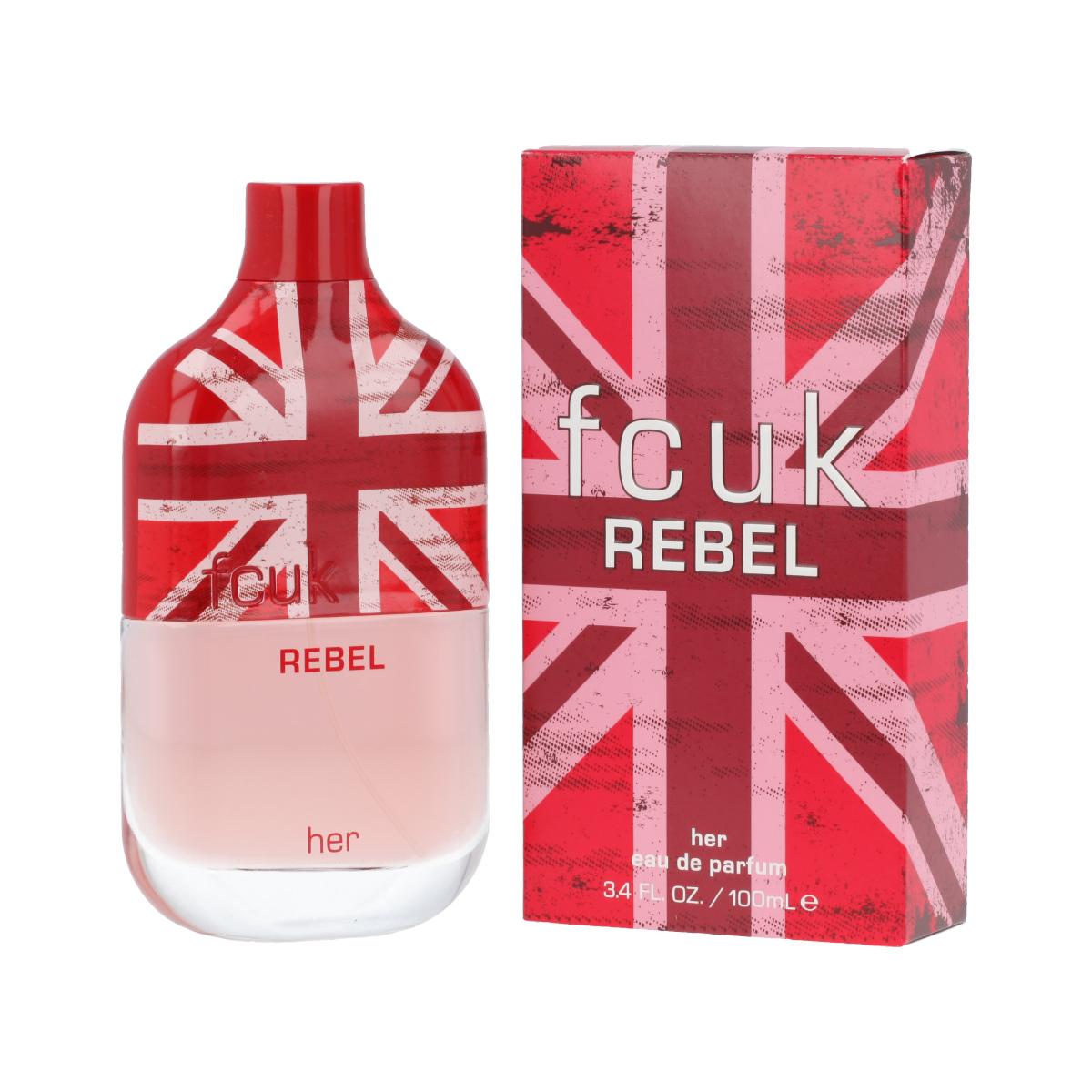 FCUK Rebel Her Eau De Parfum 100 ml (woman) 12521