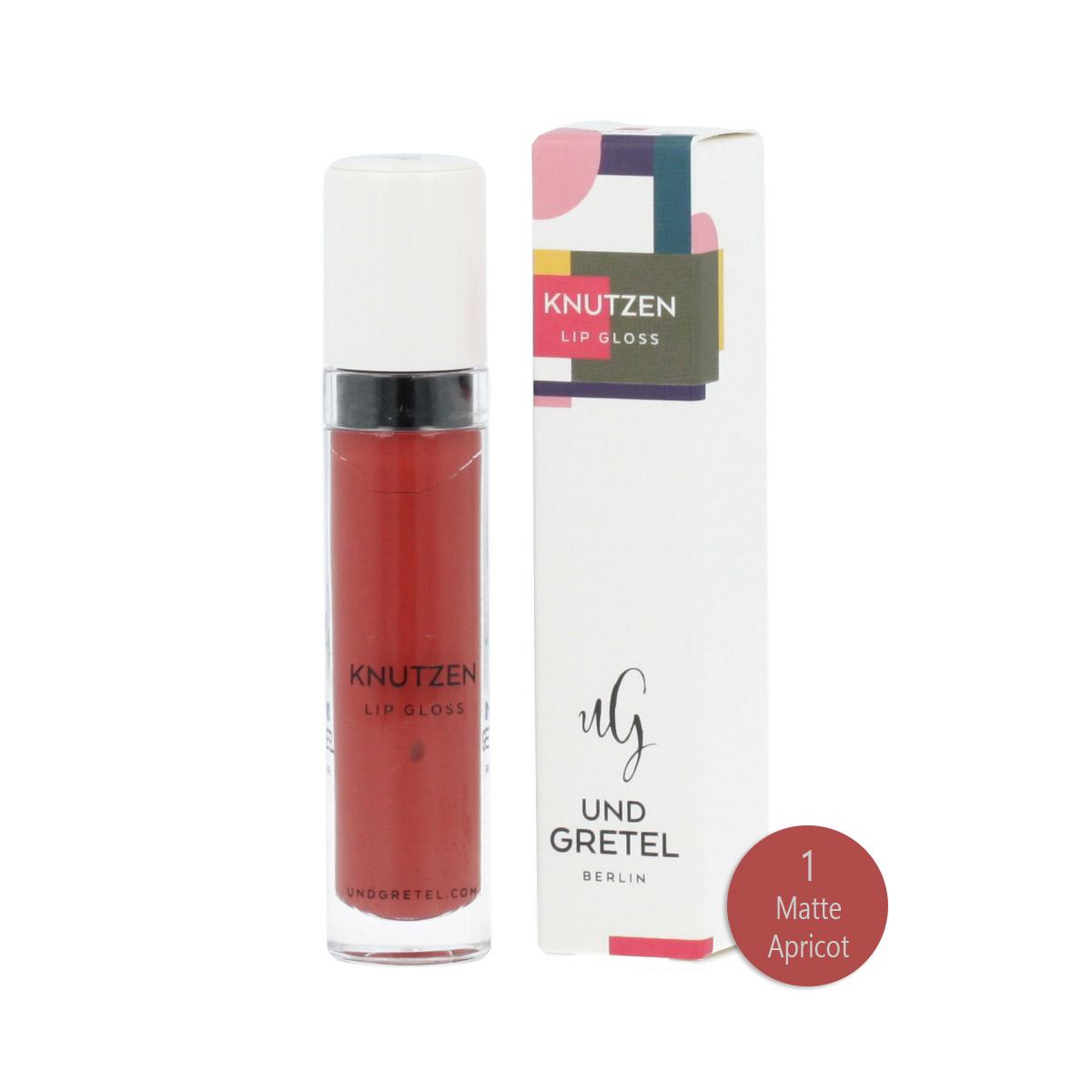 Und Gretel KNUTZEN Matte Lip Gloss (1 Matte Apricot) 6 ml 12861
