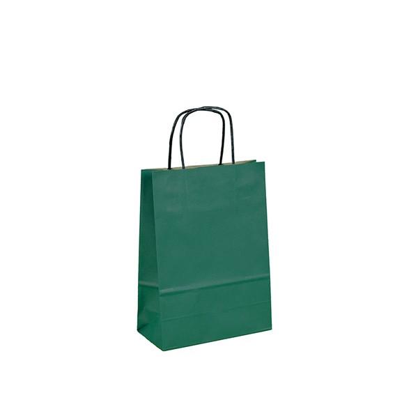 Geschenktüten Kleine Geschenktasche - Grün 18 x 8 x 24 cm 131393