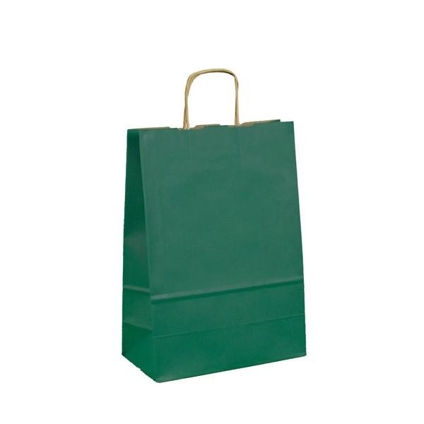 Geschenktüten Mittelgroße Geschenktasche - Grün 24 x 11 x 32,5 cm 131394