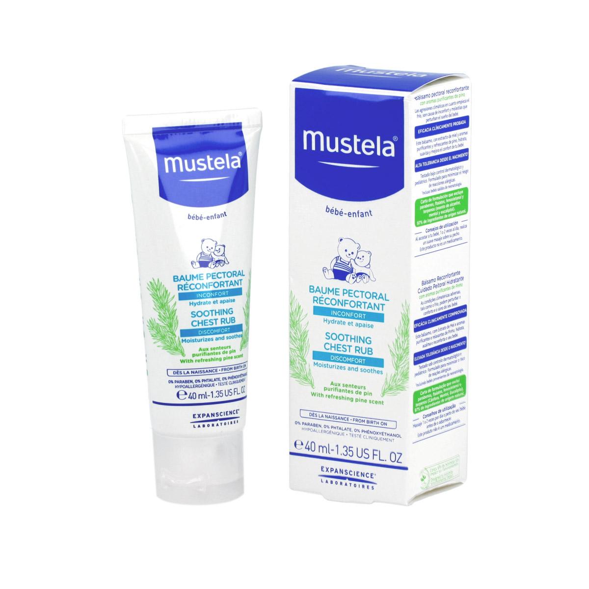 Mustela Bébé Soothing Chest Rub 40 ml 15128