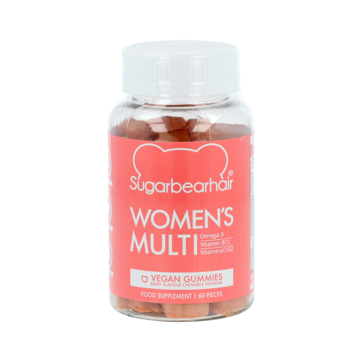 SugarBearHair Women's Multi Vitamins 60 St. 18589