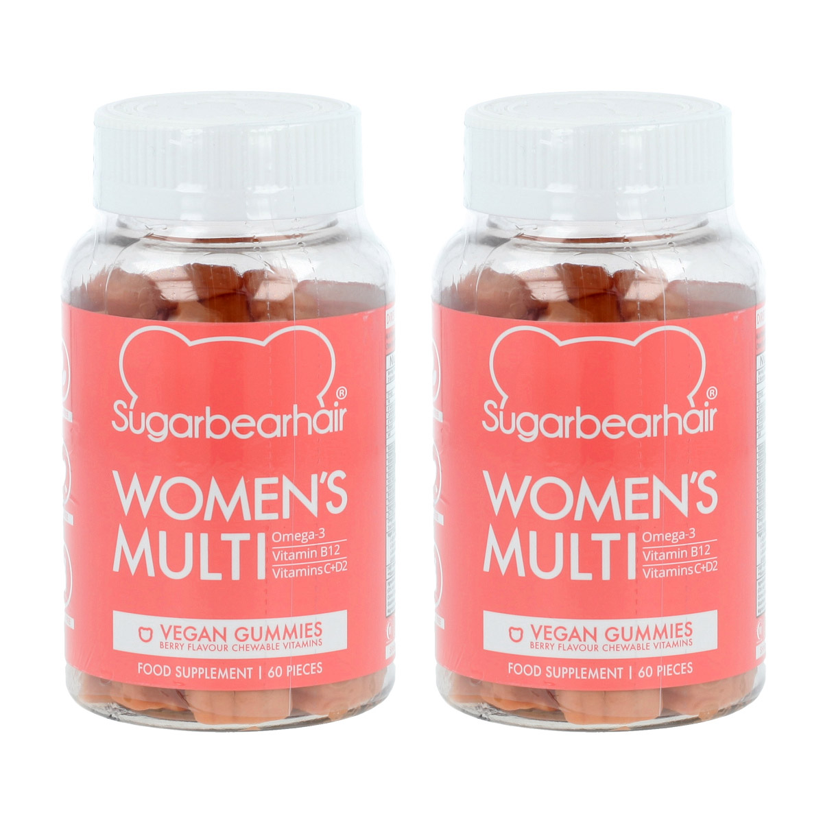 SugarBearHair Women's Multi Vitamins 2 x 60 St. 18591
