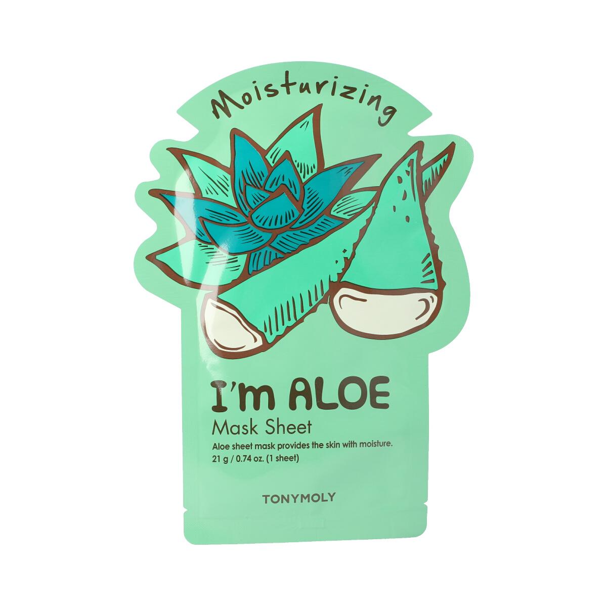 Tonymoly Moisturizing I'm Aloe Mask Sheet 21 g 19459