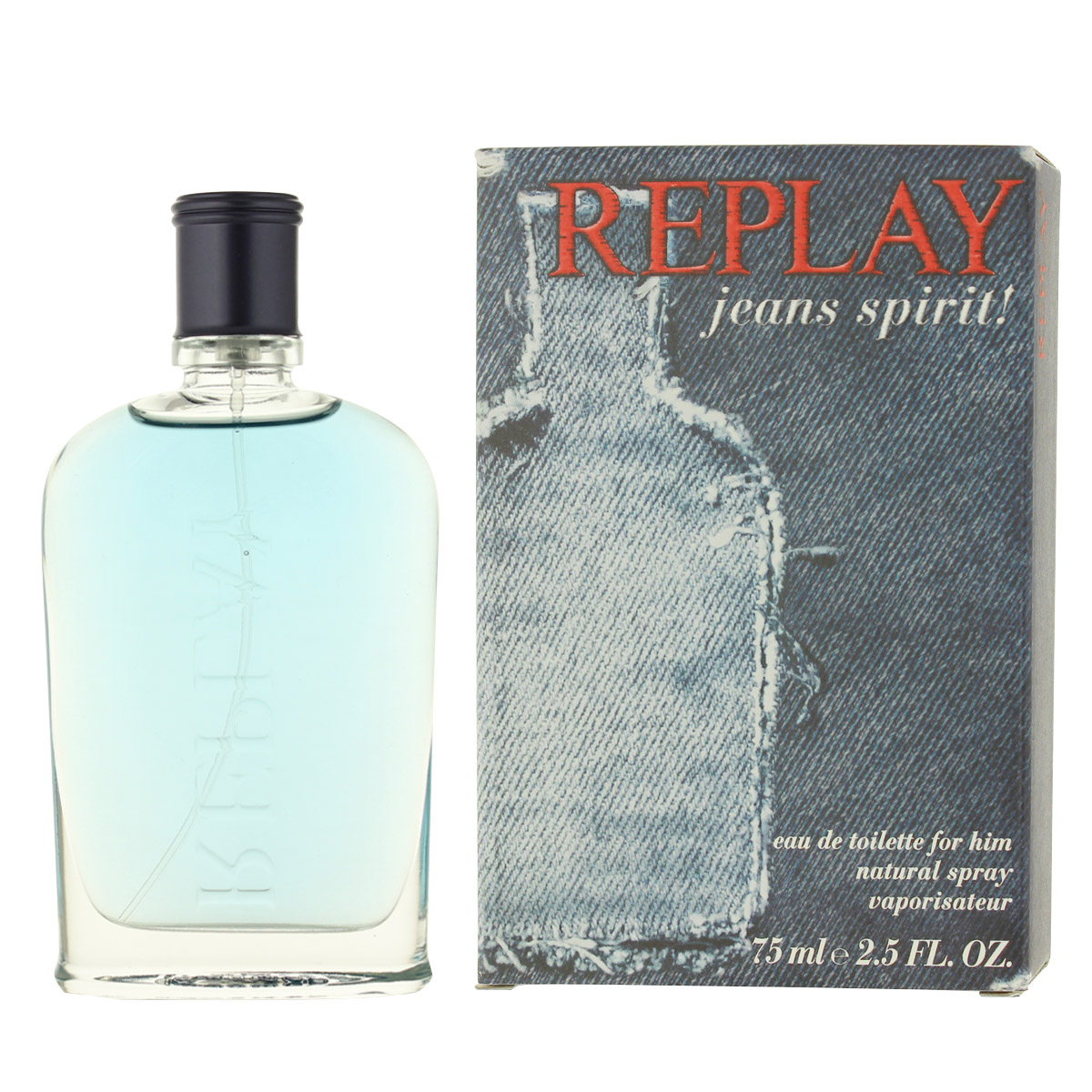 Replay Jeans Spirit! for Him Eau De Toilette 75 ml (man) 66973