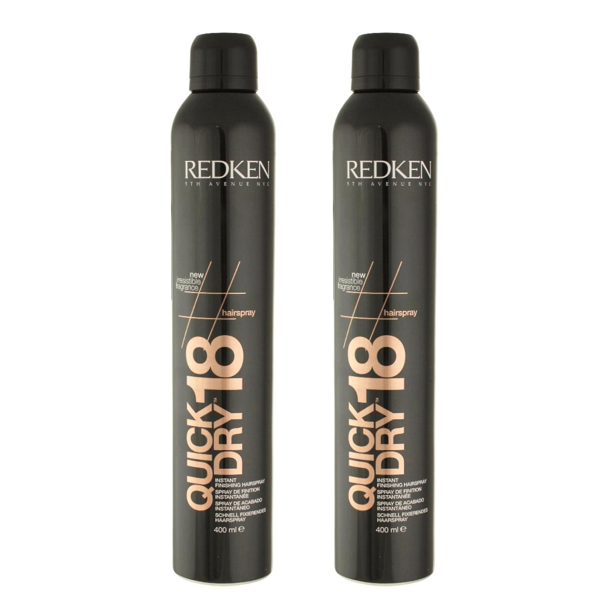 Redken Quick Dry 18 Instant Finishing Spray 2 × 400 ml 69270