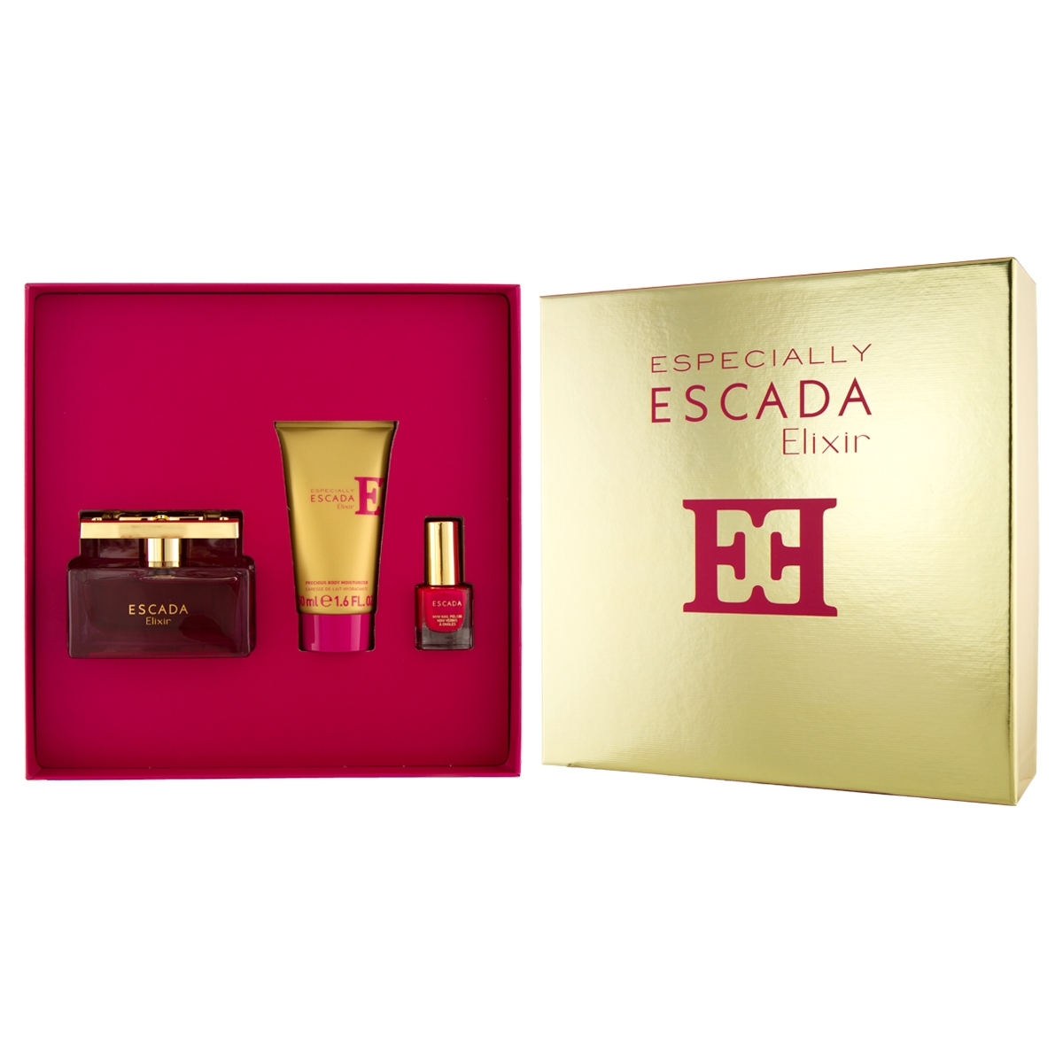 Escada Especially Elixir EDP 75 ml + BL 50 ml + Nagellack 4,5 ml (woman) 74374