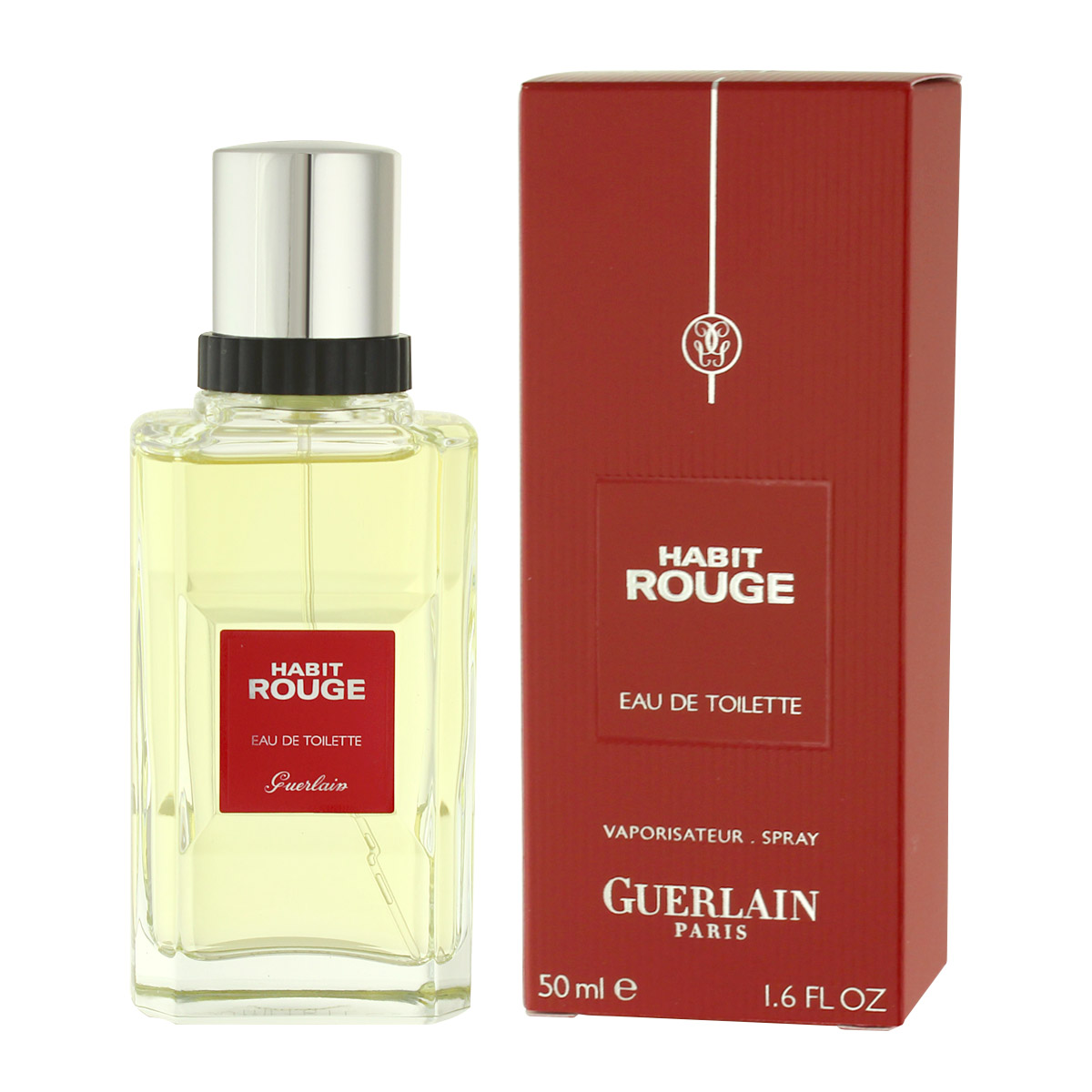Guerlain Habit Rouge Eau De Toilette 50 ml (man) 80375