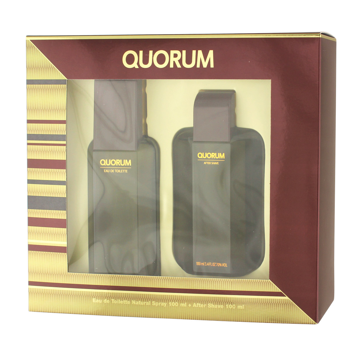 Antonio Puig Quorum EDT 100 ml + AS 100 ml (man) 80517