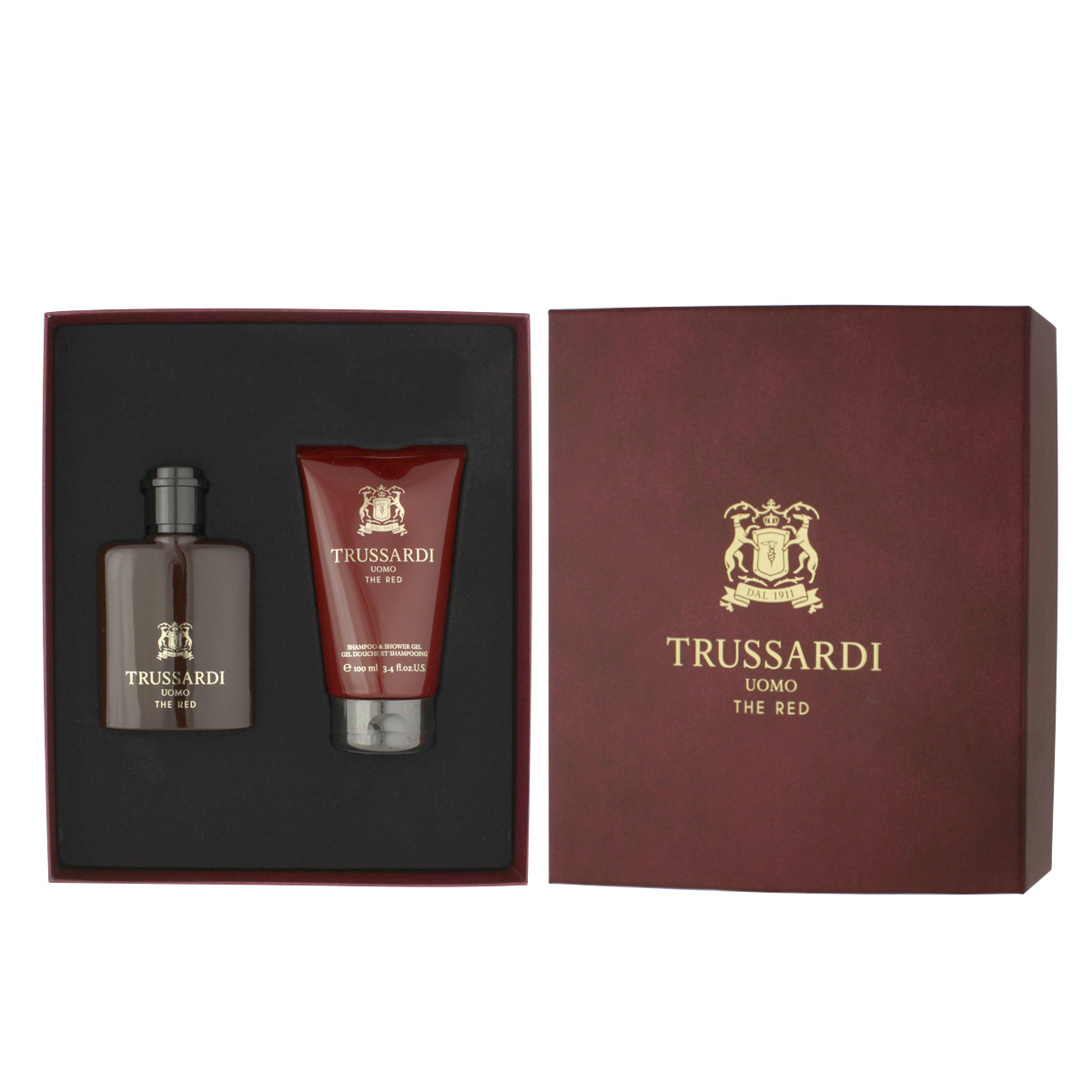 Trussardi Uomo The Red EDT 50 ml + SG 100 ml (man) 85916