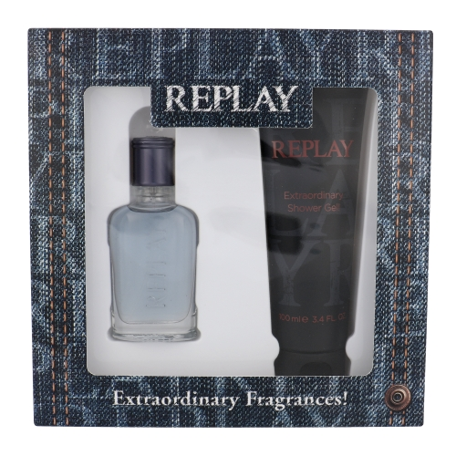 Replay Jeans Spirit! for Him EDT 30 ml + SG 100 ml (man) 88409