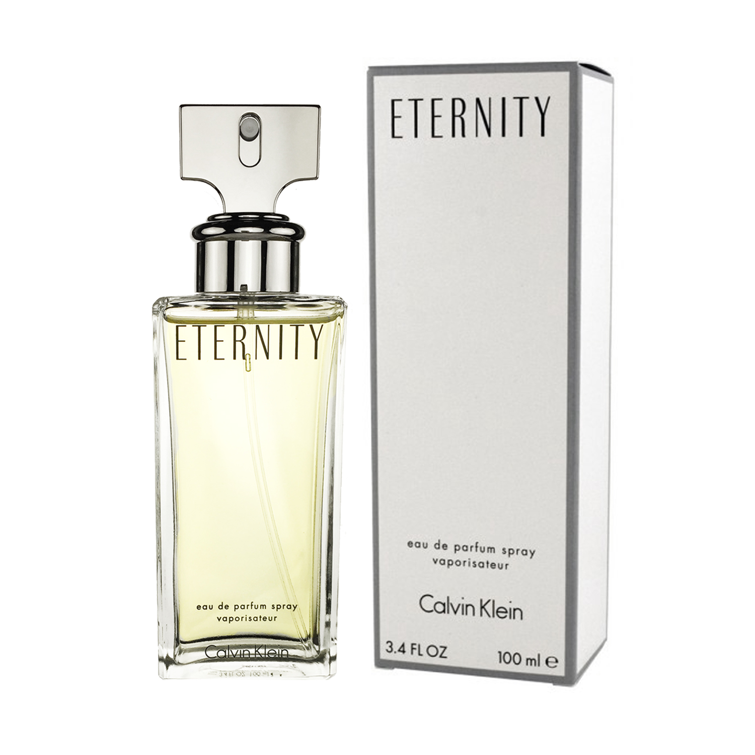 calvin klein eternity for women eau de parfum 100 ml. Black Bedroom Furniture Sets. Home Design Ideas