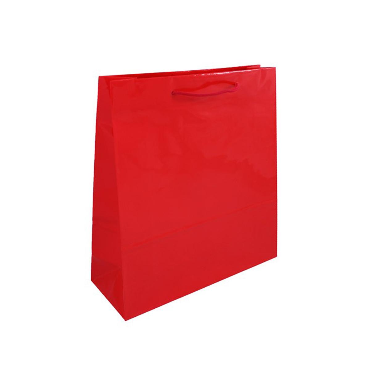 Geschenktüten Große Geschenktasche - Rot 36 x 12 x 40 cm 93524