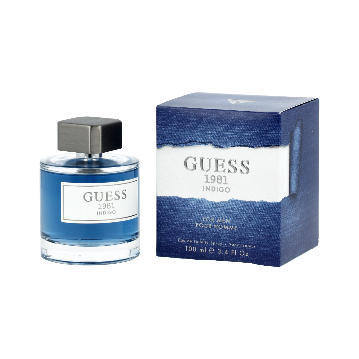 Guess Guess 1981 Indigo for Men Eau De Toilette 100 ml (man) 95735
