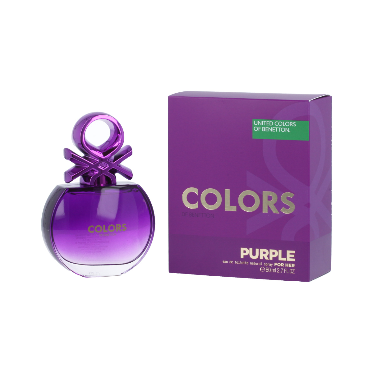 Benetton Colors de Benetton Purple Eau De Toilette 80 ml (woman) 96512