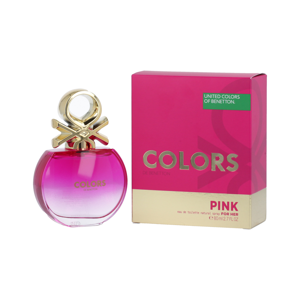 Benetton Colors de Benetton Pink Eau De Toilette 80 ml (woman) 96602