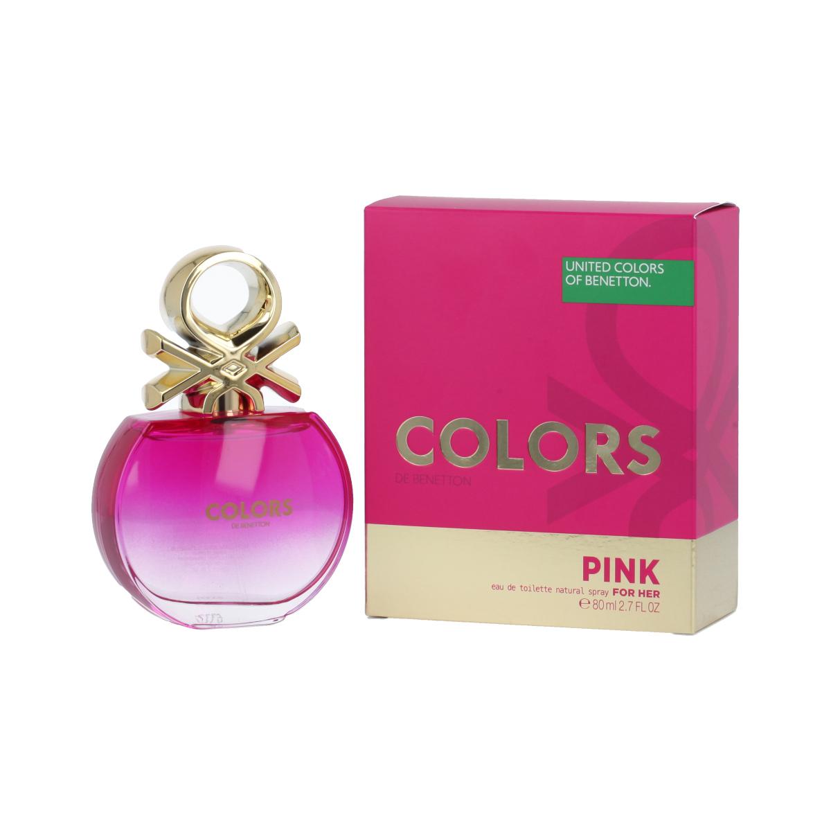 Benetton Colors de Benetton Pink Eau De Toilette 80 ml (woman) 96602