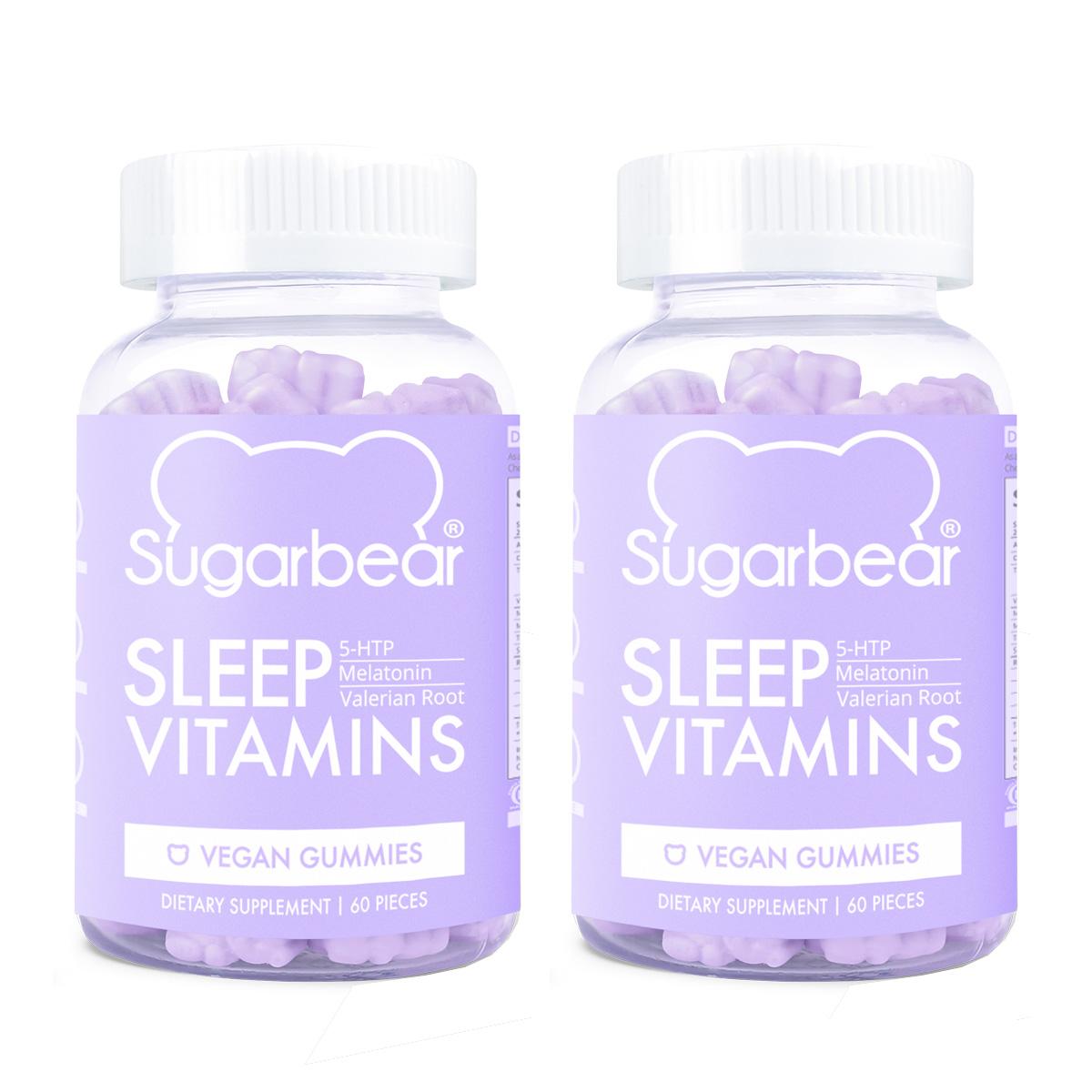 SugarBearHair SugarBear Sleep Vitamins 2 x 60 St. 133070