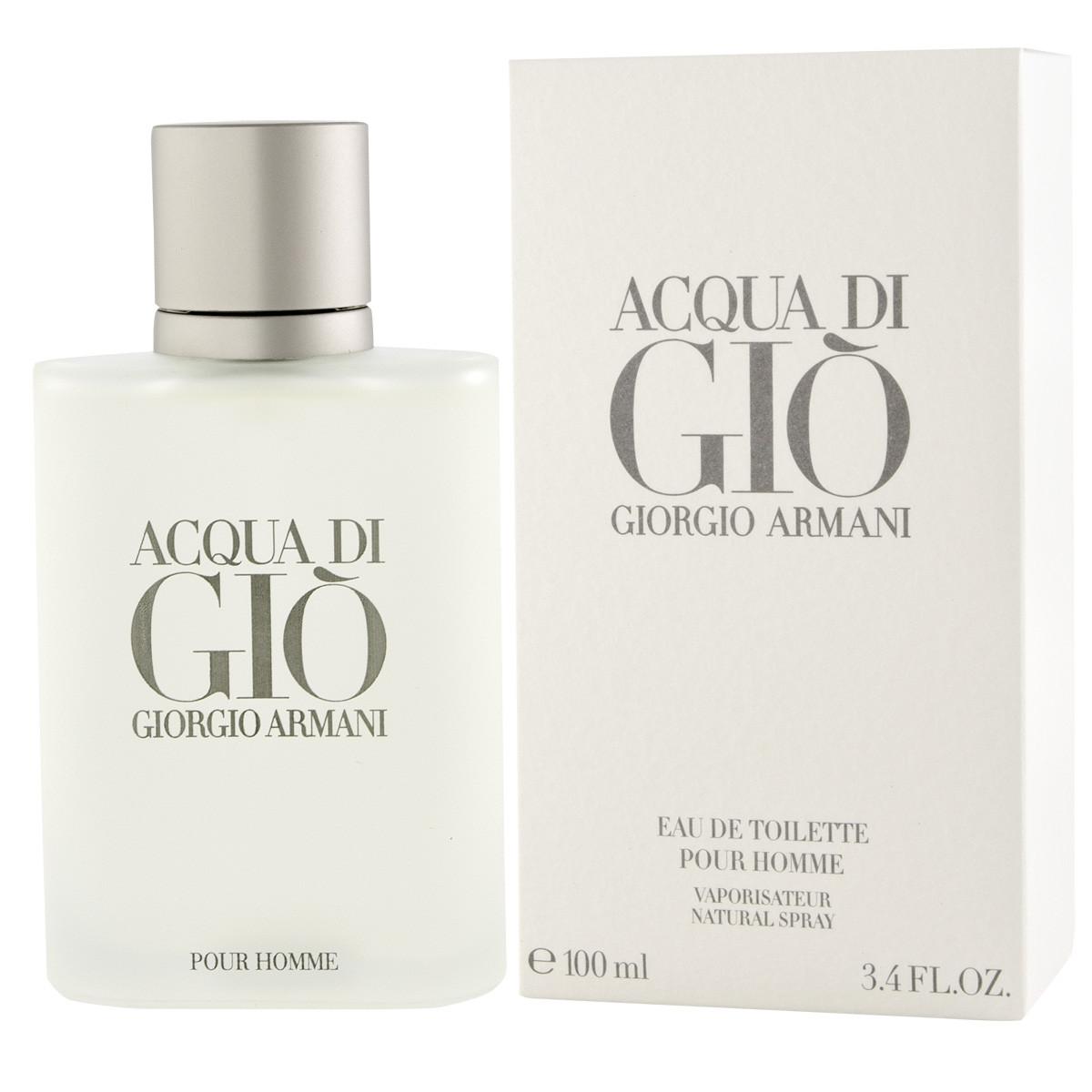 Armani Giorgio Acqua Di Gio Pour Homme Eau De Toilette 100 Ml Man