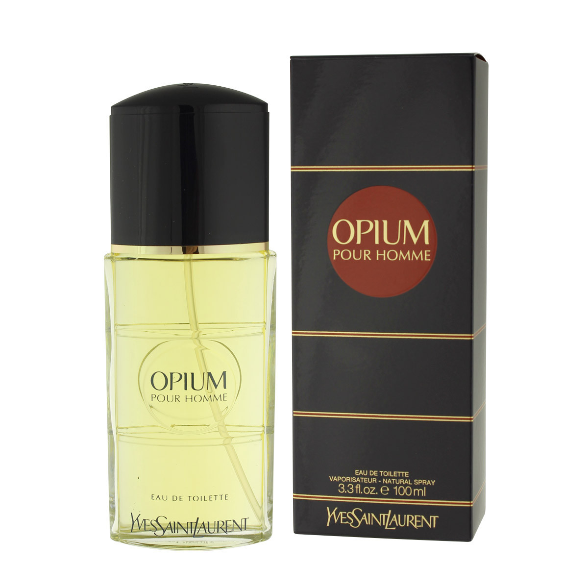 yves saint laurent opium pour homme eau de toilette 100 ml. Black Bedroom Furniture Sets. Home Design Ideas