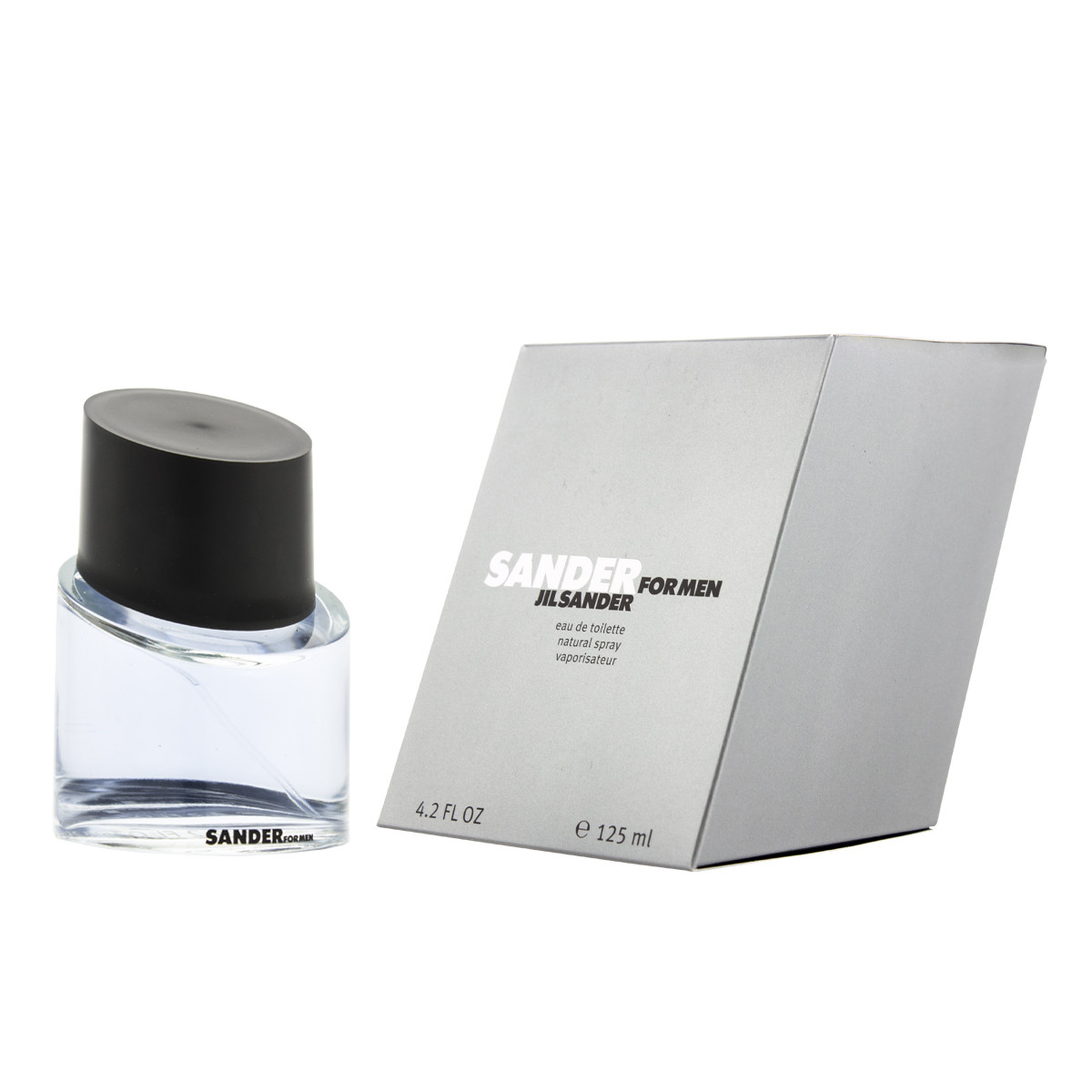 jil sander sander for men eau de toilette 125 ml man. Black Bedroom Furniture Sets. Home Design Ideas