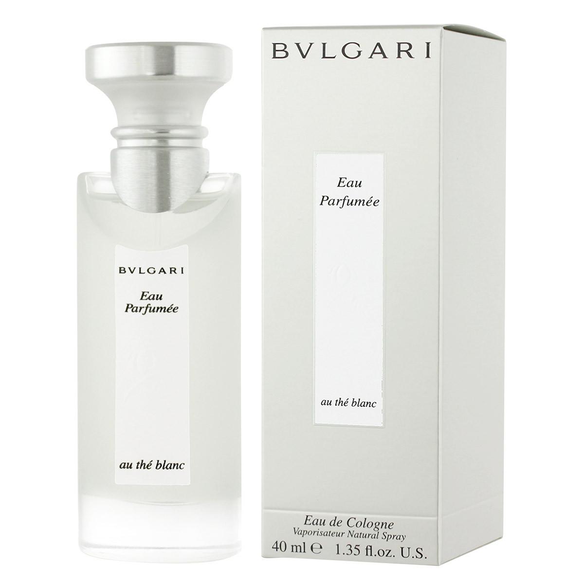 bvlgari eau parfum e au th blanc eau de cologne 40 ml. Black Bedroom Furniture Sets. Home Design Ideas