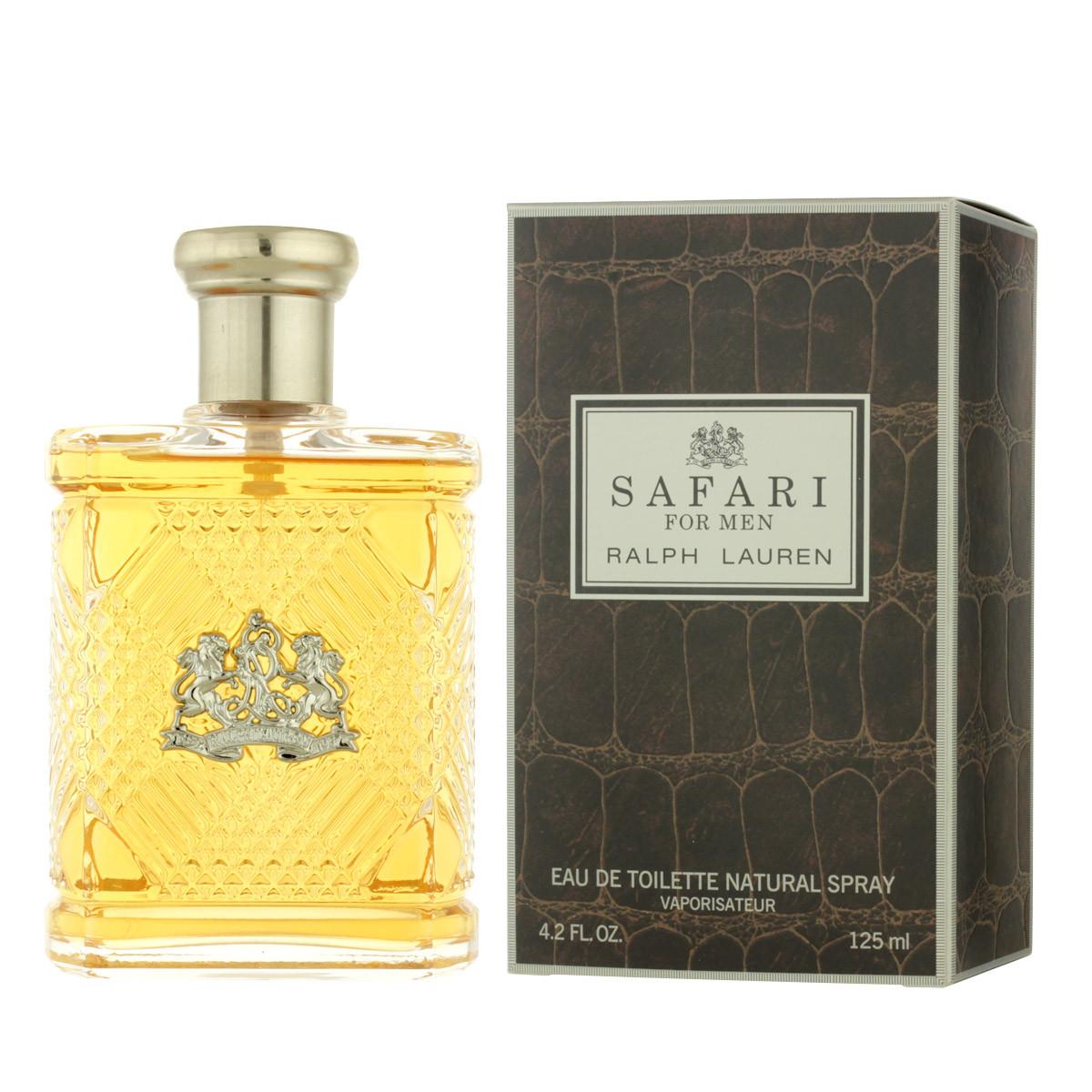 Ralph Lauren Safari For Men Eau De Toilette 125 Ml Man Polo Black Edt