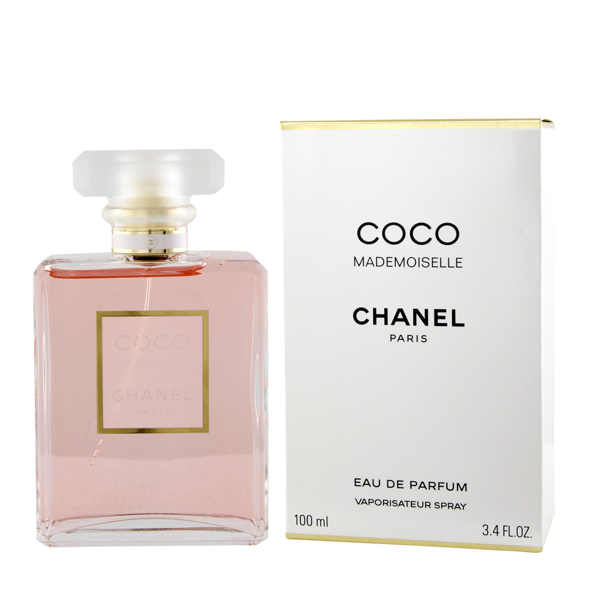 chanel coco mademoiselle eau de parfum 100 ml woman coco mademoiselle chanel marken. Black Bedroom Furniture Sets. Home Design Ideas