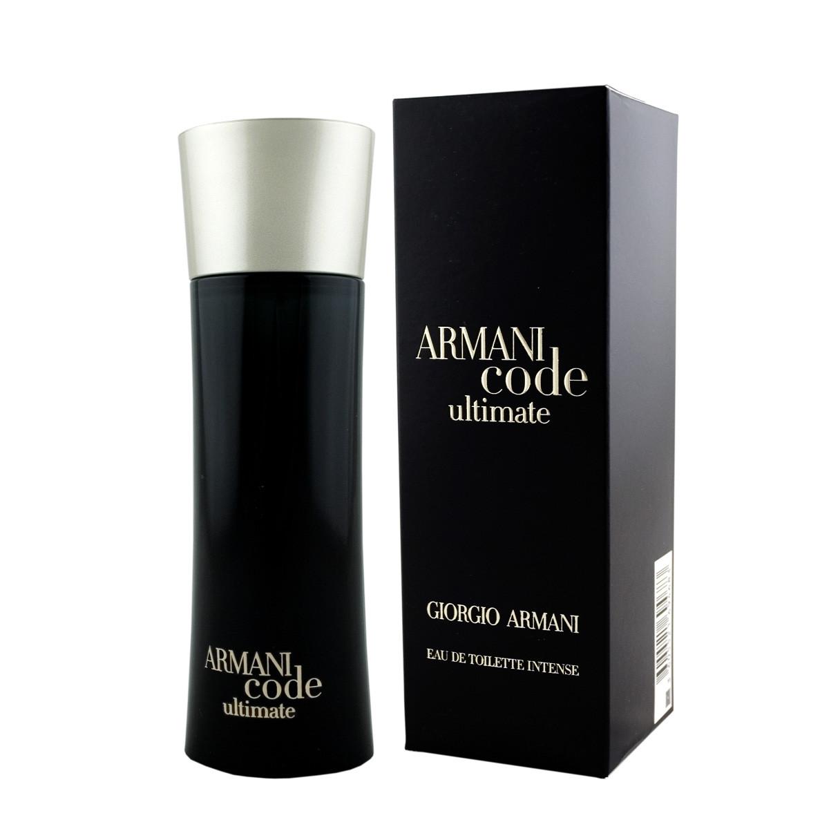 armani giorgio code ultimate intense eau de toilette 75 ml. Black Bedroom Furniture Sets. Home Design Ideas