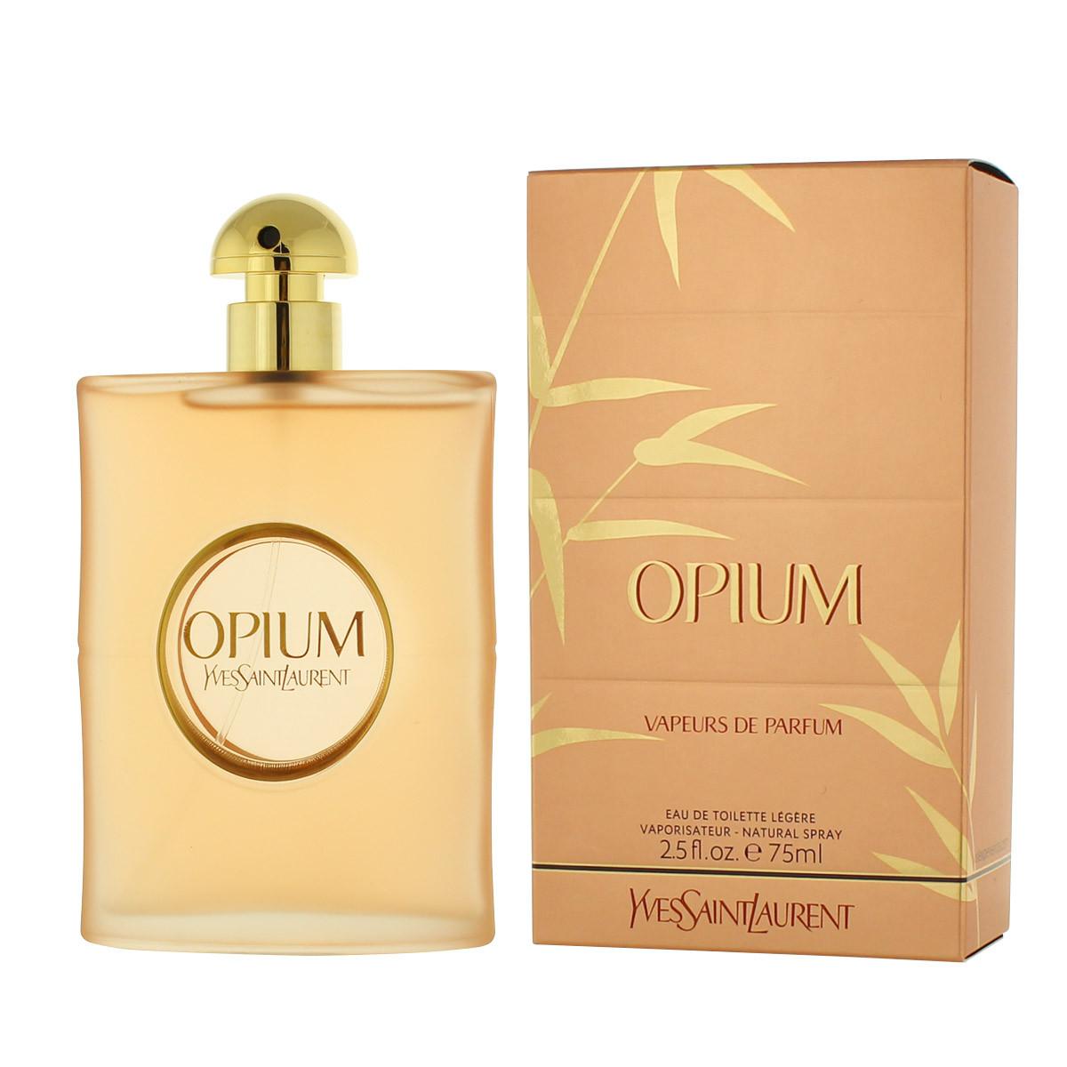 yves saint laurent opium vapeurs de parfum eau de toilette. Black Bedroom Furniture Sets. Home Design Ideas