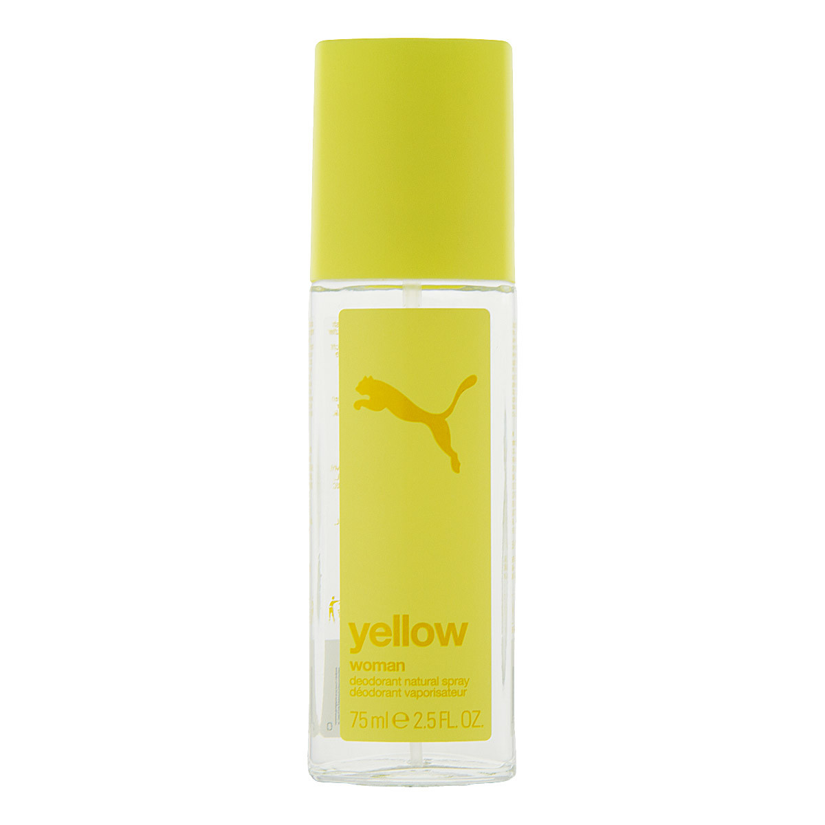 puma yellow woman deo