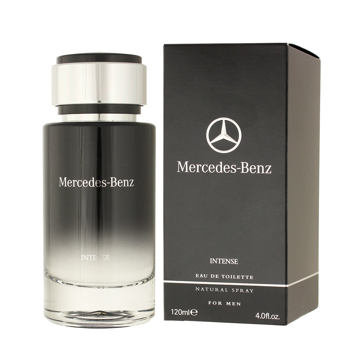 mercedes benz intense eau de toilette 120 ml man. Black Bedroom Furniture Sets. Home Design Ideas