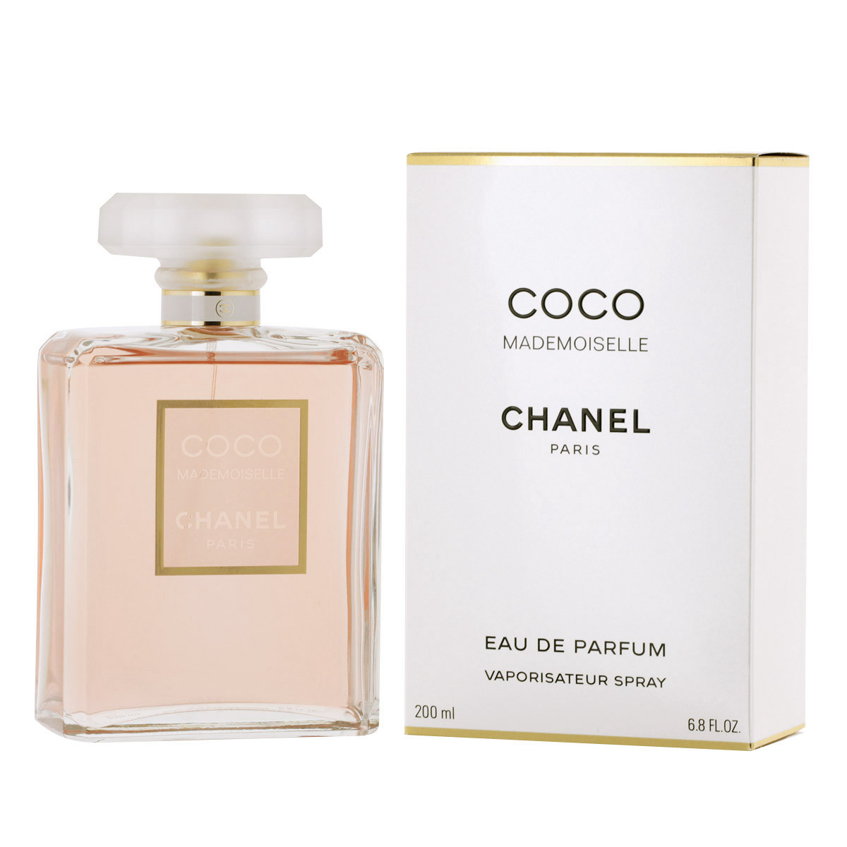 chanel coco mademoiselle eau de parfum 200 ml woman coco mademoiselle chanel marken. Black Bedroom Furniture Sets. Home Design Ideas