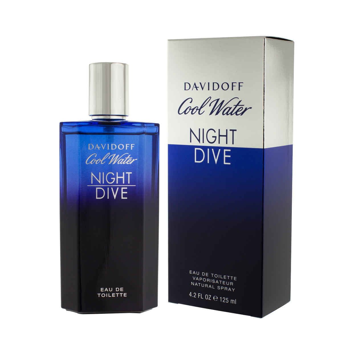 Davidoff cool water night dive eau de toilette 125 ml man - Davidoff night dive ...