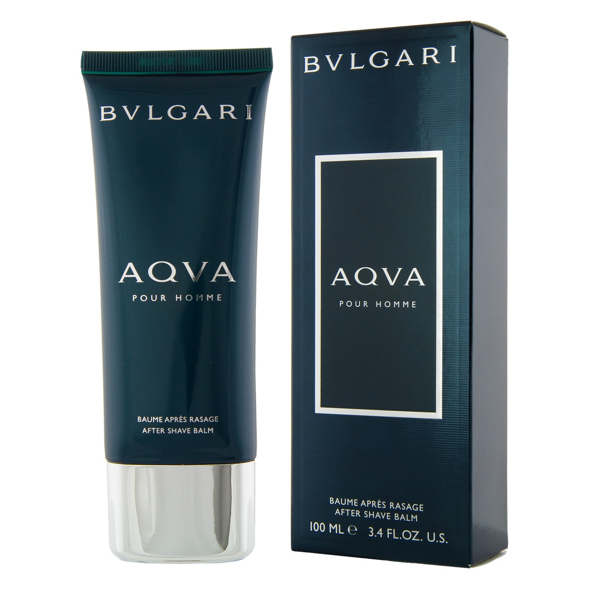 Bvlgari Aqva Pour Homme After Shave Balsam 100 Ml Man Edt 100ml
