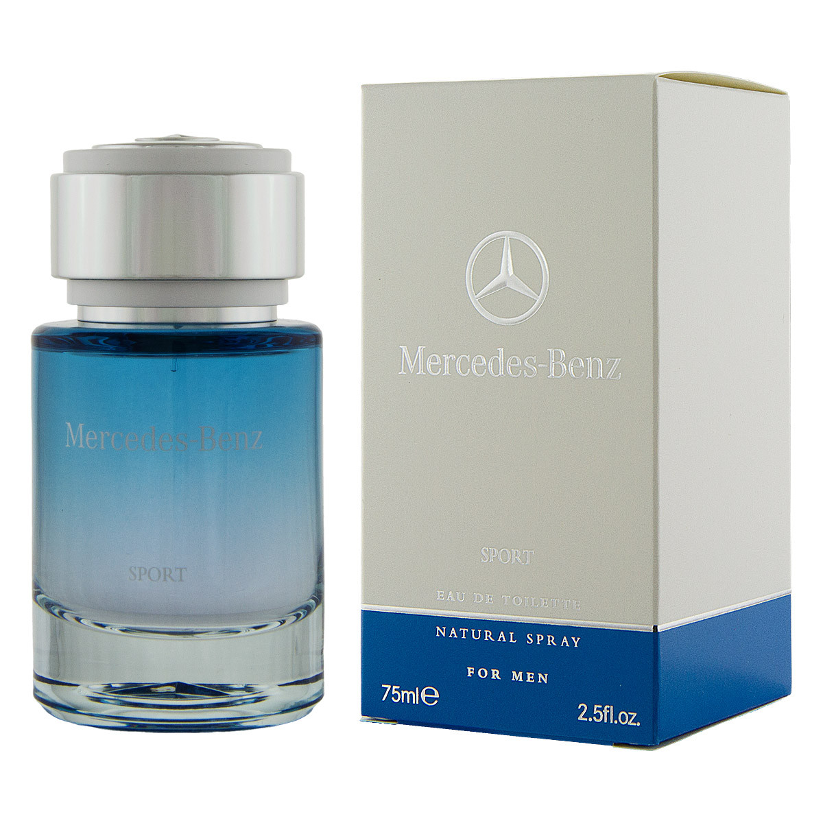 mercedes benz sport eau de toilette 75 ml man sport. Black Bedroom Furniture Sets. Home Design Ideas