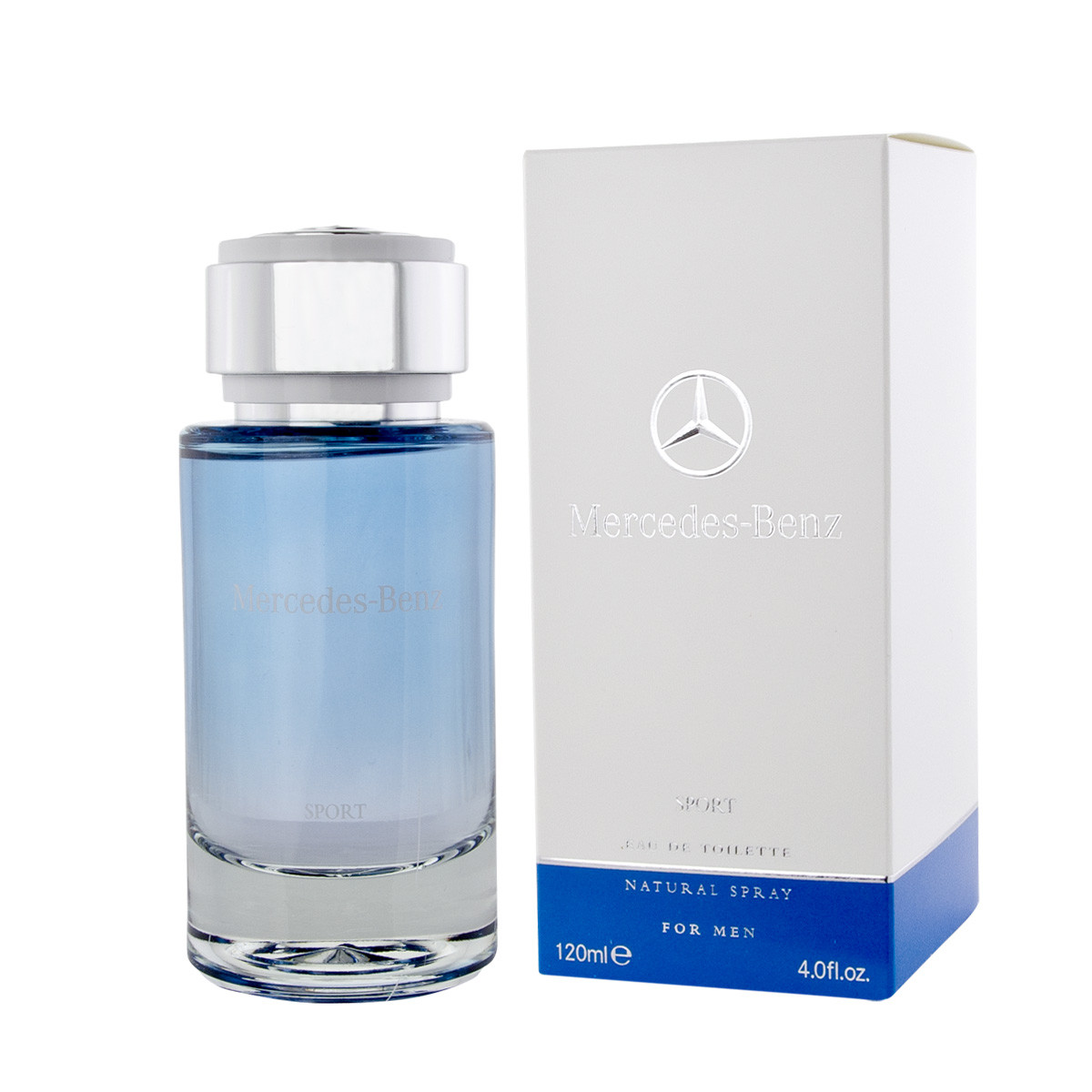 mercedes benz sport eau de toilette 120 ml man sport. Black Bedroom Furniture Sets. Home Design Ideas