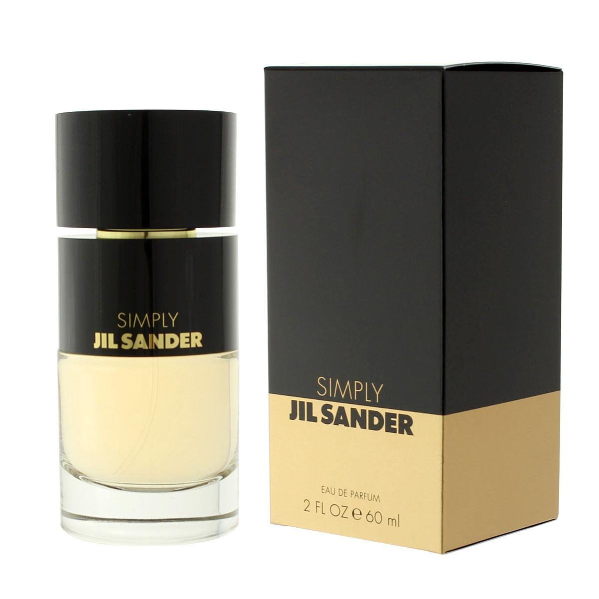 jil sander simply jil sander eau de parfum 60 ml woman. Black Bedroom Furniture Sets. Home Design Ideas