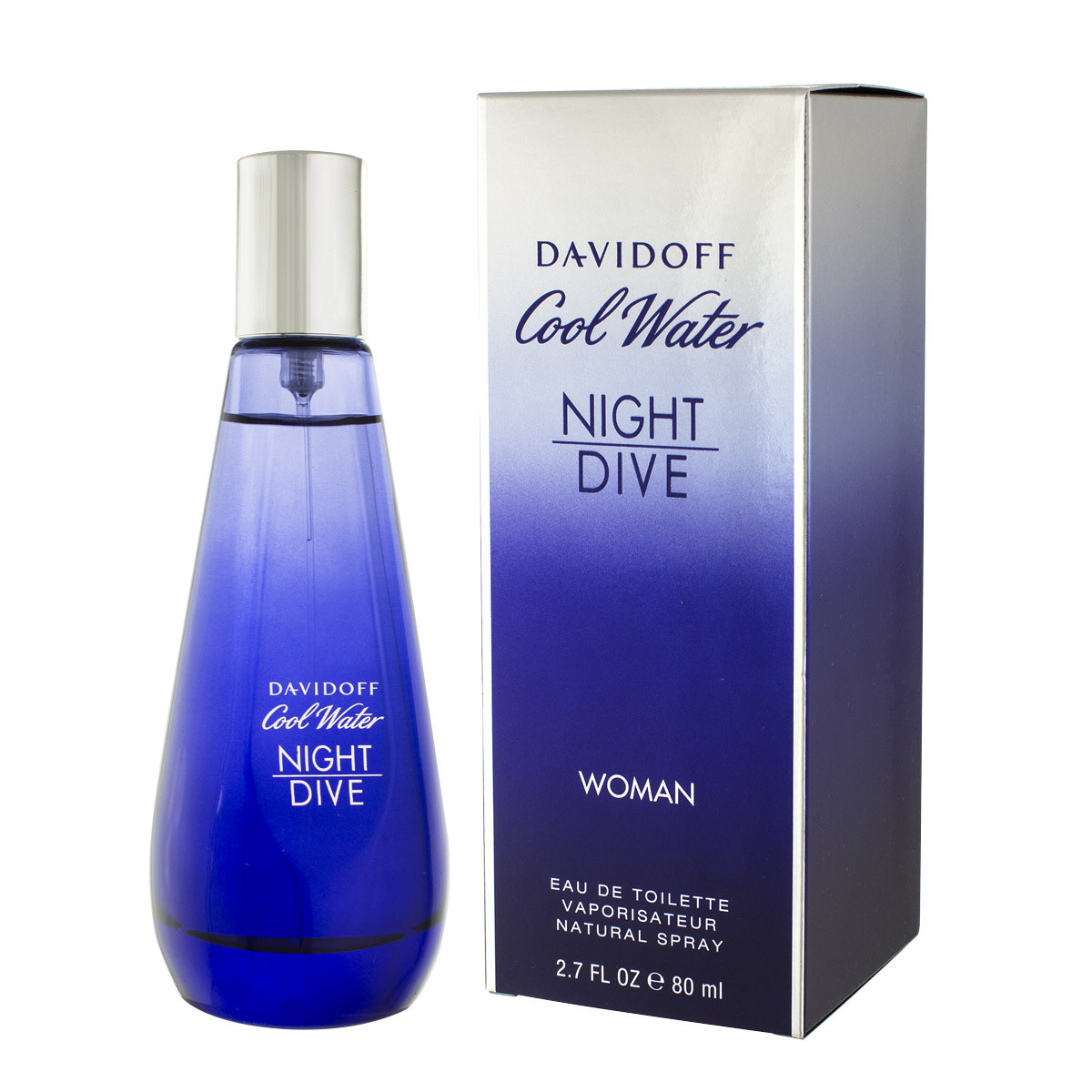 Davidoff cool water night dive woman eau de toilette 80 ml - Davidoff night dive ...