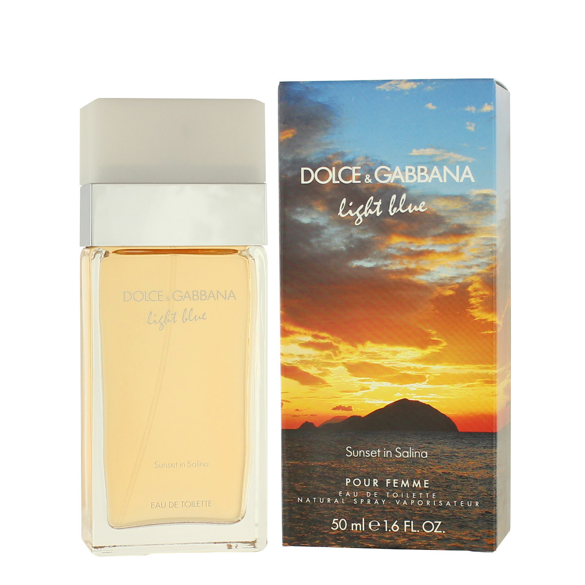 dolce gabbana light blue sunset in salina eau de toilette 50 ml woman light blue sunset in. Black Bedroom Furniture Sets. Home Design Ideas