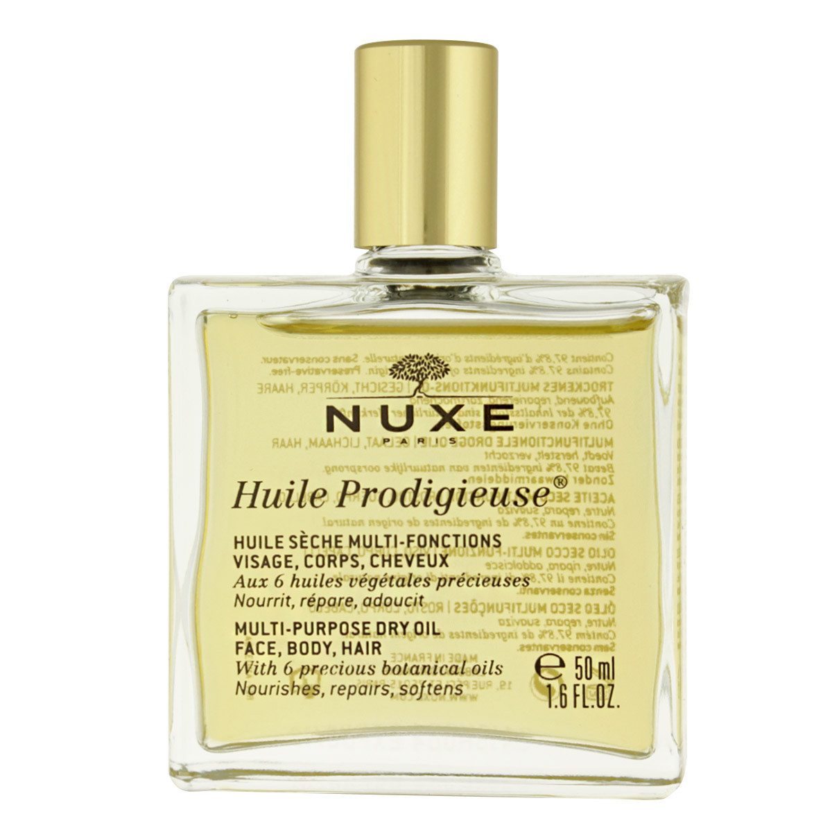 how to use nuxe dry oil
