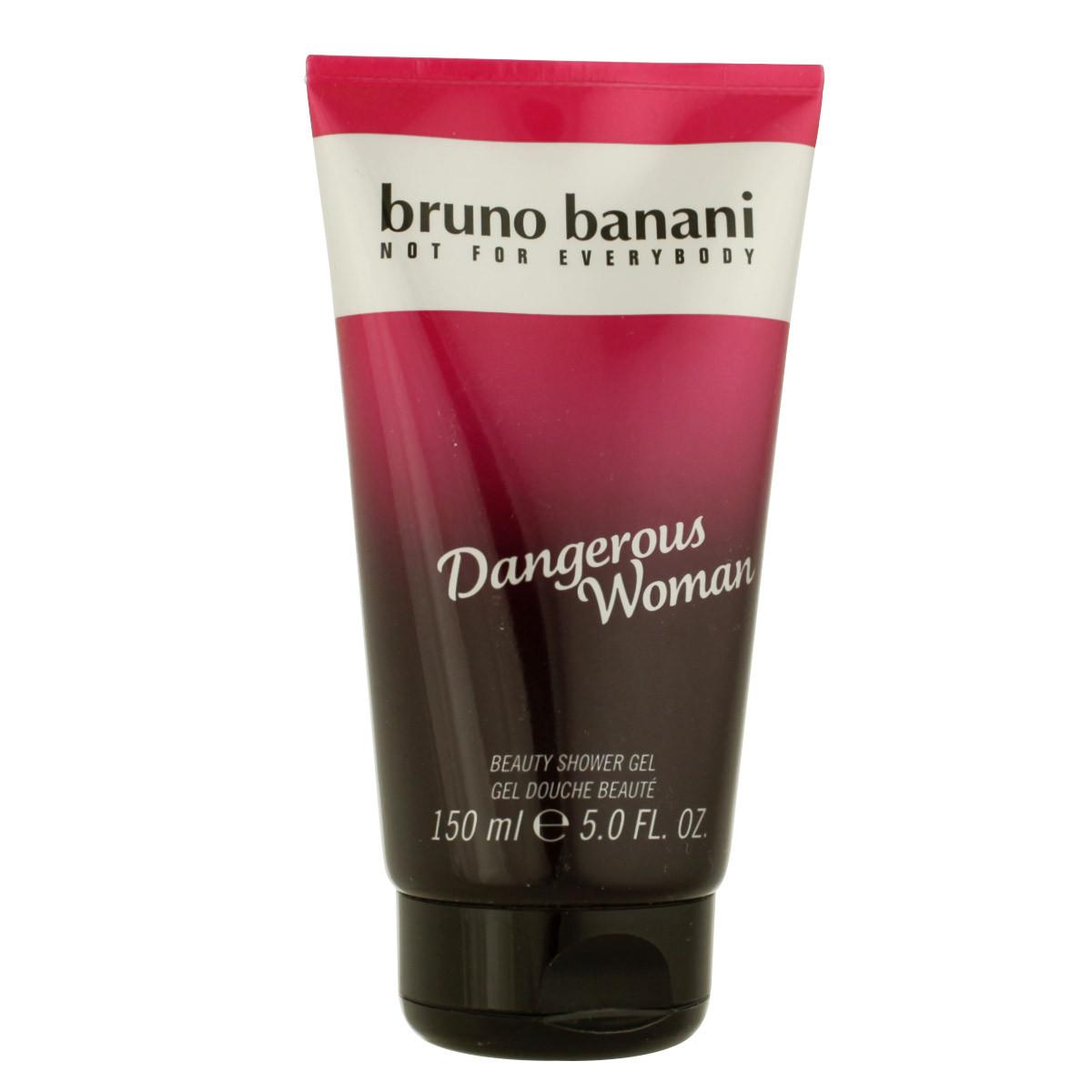 bruno banani dangerous woman duschgel 150 ml woman. Black Bedroom Furniture Sets. Home Design Ideas